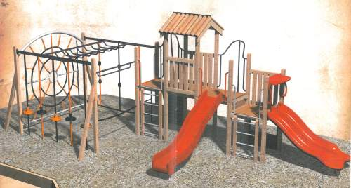 Image 1 - example of playground equipment for older children.