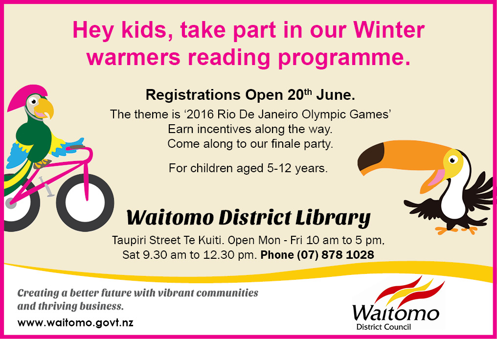 Library Advert 16 June 2016