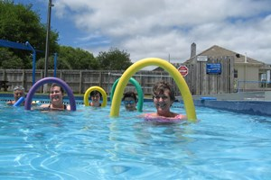 Aquacise at the Te Kuiti Swimming Pool