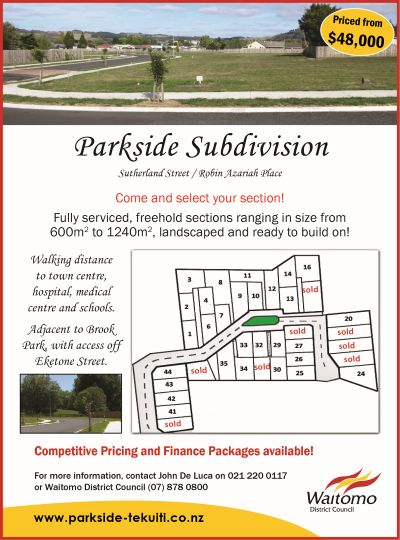 Parkside Subdivision