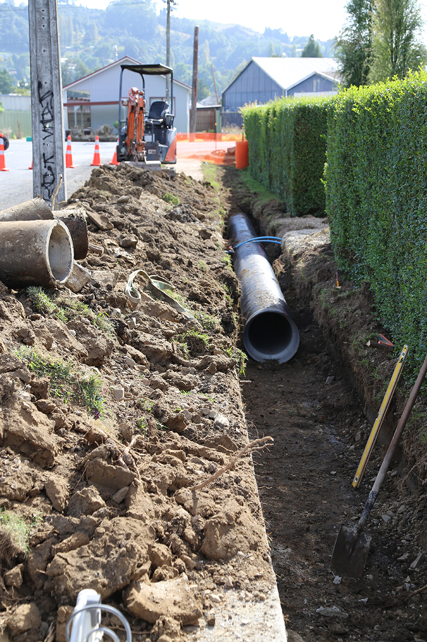 Edward Street stormwater pipe replacement