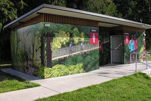 Waitomo District Council's Benneydale toilet a finalist in best loo award