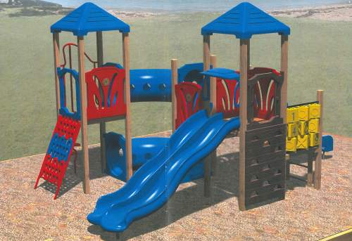 Image 2 - example of playground equipment for younger children.