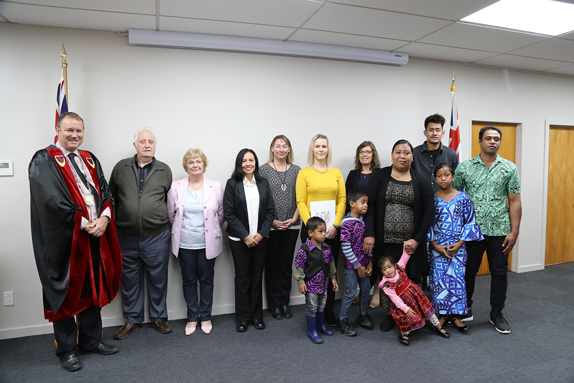 Citizenship Ceremony 26 April 2018