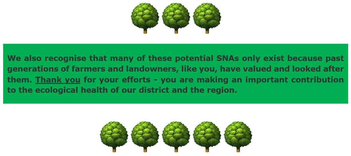 SNA disclaimer