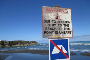 WDC urges public to comply with safety measures in place at Point Road Mokau
