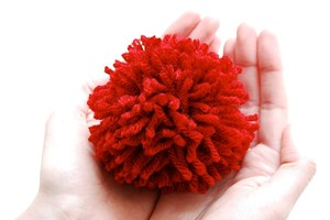 Pompom Craft at Waitomo District Library