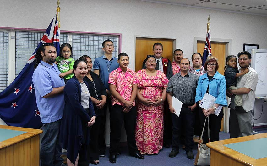 Citizenship Ceremony 11 Dec 2014
