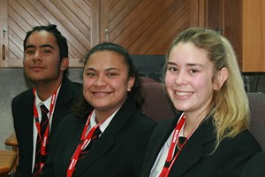 Waitomo District Youth Councillors for the 2017/2018 year