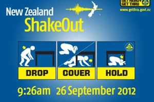 ShakeOut – Remember 26 September 9:26am
