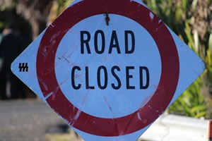 Takiri Road closed due to slip