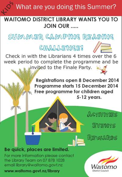 Library Summer Reading Programme